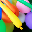 Multicolored balloons - balloons background. — Stock Photo