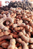 Fresh tamarind in the market — Stock Photo