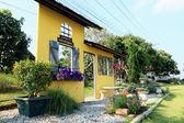 English landscape garden home — Foto de Stock