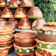 Stock Photo: Shop Earthenware beauty.