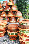 Shop Earthenware beauty. — Foto Stock
