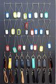 Shop Keychain handmade vintage — Stock Photo