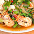 Spicy fried seafood, shrimp, squid. — Stock Photo #38948957