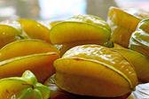 Star apple nel mercato galleggiante — Foto Stock