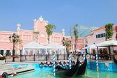 Gondola - The Venezia Hua Hin on 30 December 2013. — Stock Photo