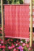 Show handmade silk designs Thailand. — Foto Stock