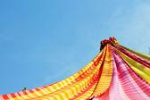 Show handmade silk designs Thailand. — Stockfoto