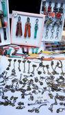 Dükkanı Anahtarlık el yapımı vintage — Stok fotoğraf