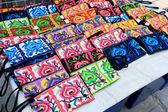Thailand handmade bags embroidery — Zdjęcie stockowe