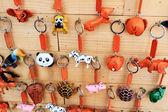 Shop Keychain handmade vintage — Zdjęcie stockowe