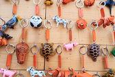 Shop Keychain handmade vintage — Foto de Stock