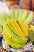 Close-up banana in the maket — Stock Photo