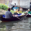 Stock Photo: Lifestyle Damnoen Saduak Floating Market - Thailand on 30 Decemb