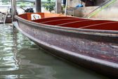 Lifestyle Damnoen Saduak Floating Market - Thailand on 30 Decemb — Foto de Stock