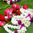 Stock Photo: Jasmine garland markets
