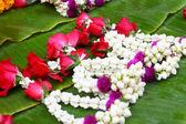 A jasmine garland markets — Foto de Stock