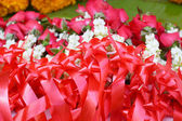 рынки жасмина гирлянды — Стоковое фото