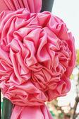 Flower fabric background. — Stock Photo