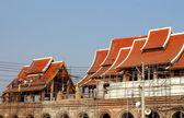 Sculpture measuring - Wat Thai — Stock Photo