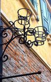 Steel decorative pattern home — Stock Photo