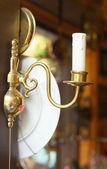 Vecchia lampada da parete vintage — Foto Stock