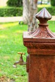 Antique faucets. — 图库照片