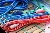 Electric wire in the market — Stock Photo