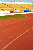 Running track - for the athletes — Zdjęcie stockowe