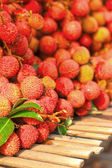 A lot of lychee in the markets — Stockfoto