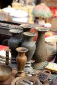 Old vase vintage in the market — Stockfoto