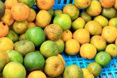 Wir brauchen den orangensaft-markt. — Stockfoto