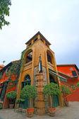 Buildings against at Palio Khao Yai Thailand - February 14, 2014. — Stockfoto
