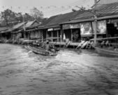Amphawa Floating Life April 16, 2014. — Stock Photo