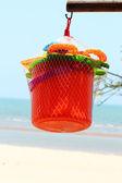 Children's beach toys — Stockfoto