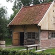 Stock Photo: Typical old dutch woman'shouse
