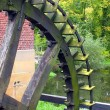 Paddlewheel of a watermill — Foto Stock