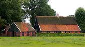 Restored old dutch farmhouse — Stock Photo