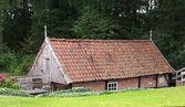 Moulin restauré de vieux néerlandais — Photo