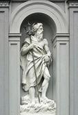 ベルゲン、ノルウェーのネプチューンの彫刻 — ストック写真