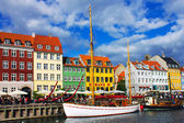 Nyhavn à copenhague — Photo