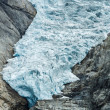Glacier Briksdal in Norway — Stock Photo