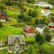 Stock Photo: Village Olden in Norway