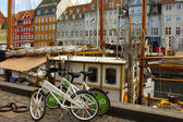 Seafront Nyhavn in Copenhagen, Denmark — Stock Photo