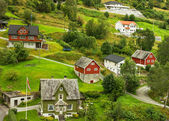 Village Olden in Norway — Stock Photo