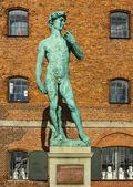 David monument in Copenhagen — Stock Photo