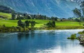 Olden, Norway — Stock Photo