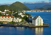 Alesund, norvegia — Foto Stock