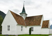 Church in village Olden, Norway — Stock Photo