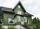 Country house in Norway — Stock Photo