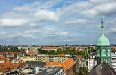 Panorama of Copenhagen — Stock Photo